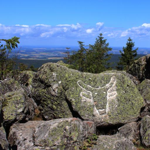"""Der """"Ochsenkopf"""" ist der zweithöchste Berg im Fichtekgebirge"""